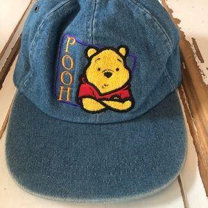 Disney Denim Winnie the Pooh Hat